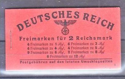 D.-Reich Markenheft  48.2   ** Luxus !   ( pp215 ) siehe scan