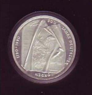 BRD 10 D.-Mark -Silber  / Deutscher Orden -J  (x590 ) siehe scan