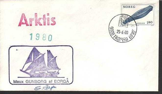 Polarpost -Sammler -Beleg  (ba 2374 ) siehe Bild  !