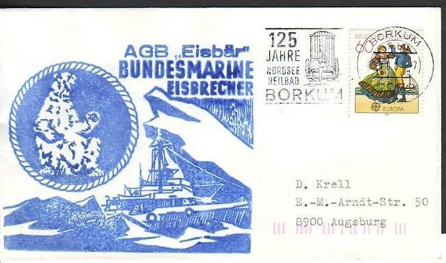Polarpost -Sammler -Beleg  (ba 2366 ) siehe Bild  !