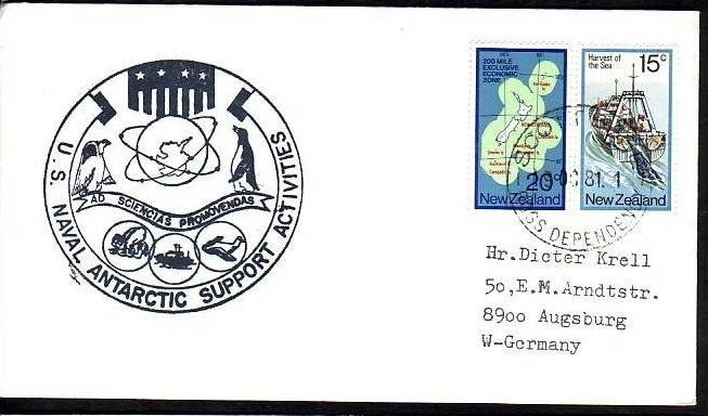 Polarpost -Sammler -Beleg  (ba 2431 ) siehe Bild  ! 0