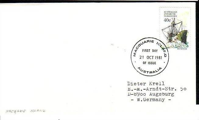 Polarpost -Sammler -Beleg  (ba 2427 ) siehe Bild  ! 0