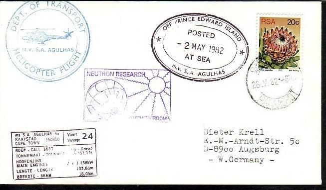 Polarpost -Sammler -Beleg  (ba 2426 ) siehe Bild  ! 0