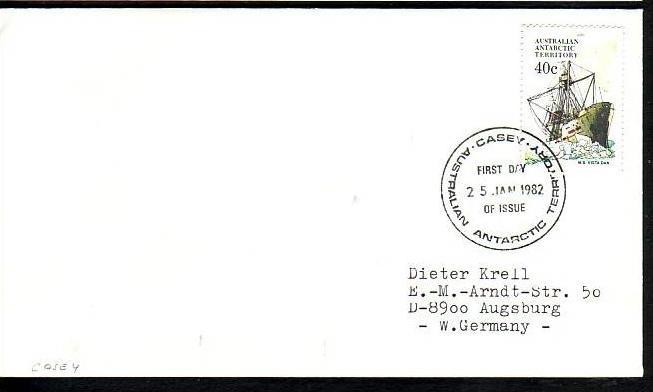 Polarpost -Sammler -Beleg  (ba 2386  ) siehe Bild  !