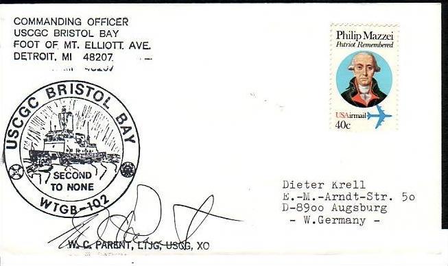 Polarpost -Sammler -Beleg  (ba 2474  ) siehe Bild  !