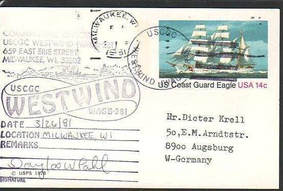 Polarpost -Sammler -Beleg  (ba 2477  ) siehe Bild  ! 0