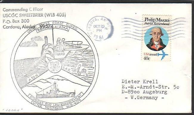 Polarpost -Sammler -Beleg  (ba 2454  ) siehe Bild  ! 0