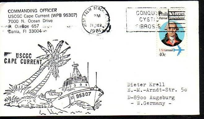 Polarpost -Sammler -Beleg  (ba 2456  ) siehe Bild  !