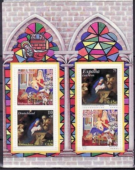 BRD Bl.56  Weihnacht ** ( dc8780   ) siehe scan