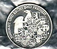 Medalie  D Männer der ersten Stunde ....Silber ? (x353 ) siehe scan