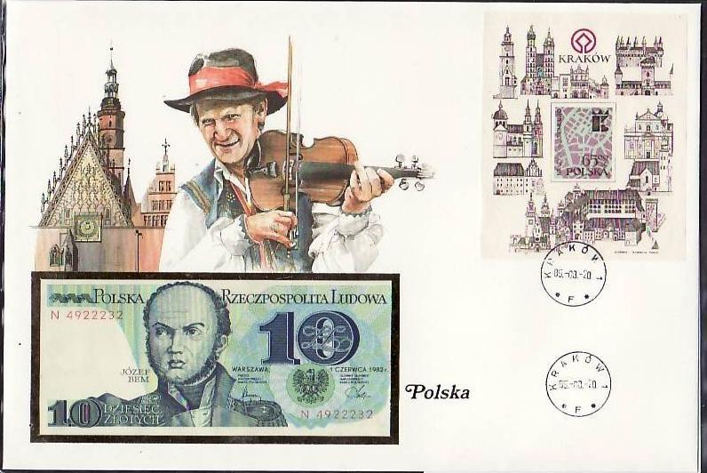 Banknoten Brief -POLEN (bg1032 ) siehe scan