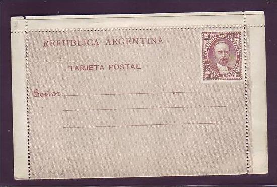 Argentinien uralte Ganzsache  (da1876 ) siehe scan
