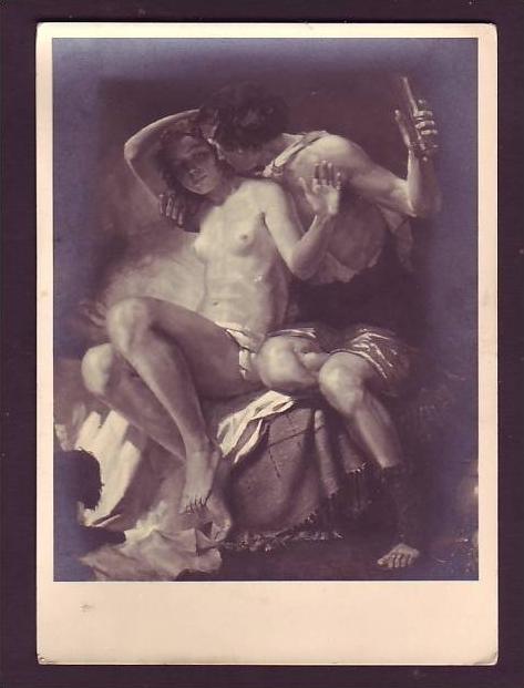 Alte Postkarte - Erotik   ( da1558  ) siehe scan