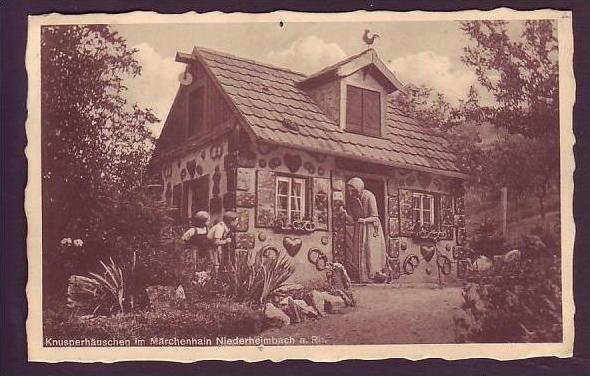 Alte Postkarte  Märchenhain Niederhelmbach  (da1498 ) siehe scan