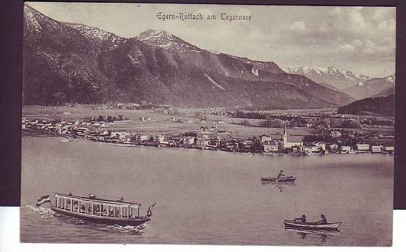 Alte Postkarte  Egern -Rottach (da1480 ) siehe scan