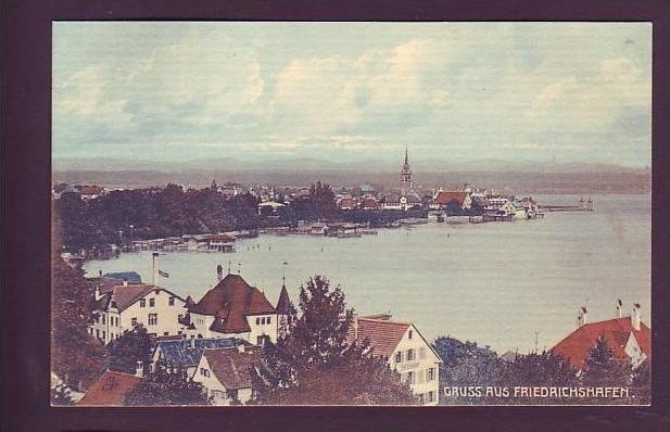 Alte Postkarte Friedrichshafen (da1505 ) siehe scan