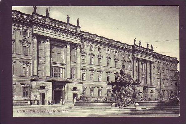 Alte Postkarte  Schloß (da1549 ) siehe scan