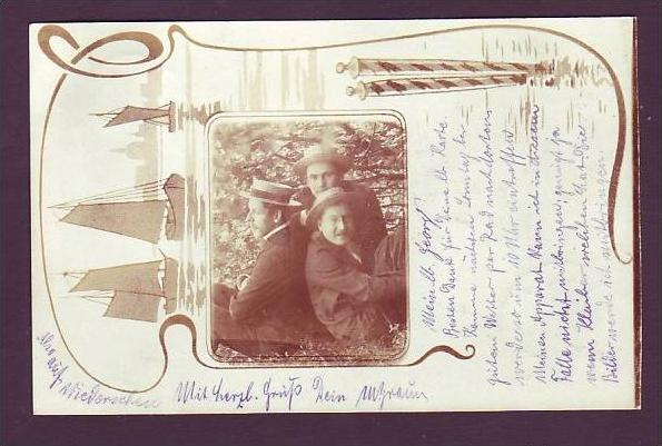 Alte Postkarte  Gingen laut Stempel (da1514  ) siehe scan