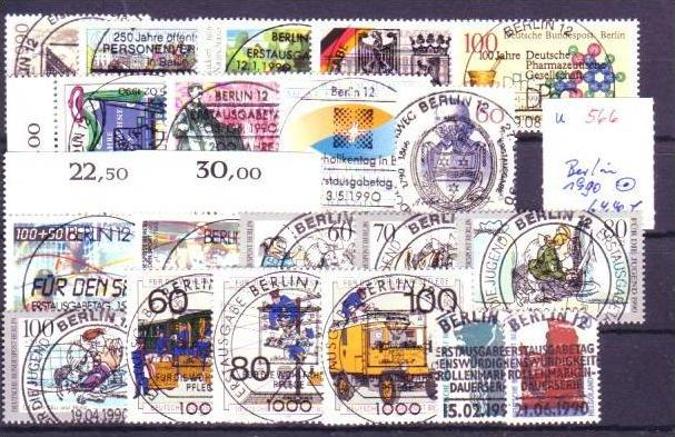 Berlin  Jahr 1990 o  (u566  ) siehe scan