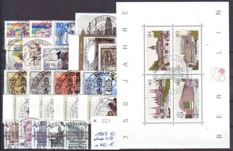 Berlin  Jahr 1987 o  (u567  ) siehe scan