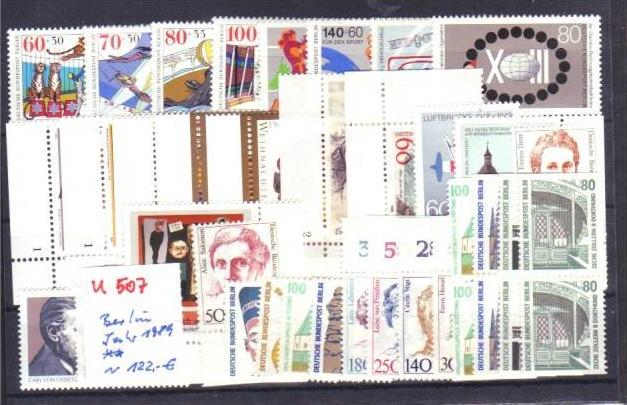 Berlin  Jahr 1989 **  (u507  ) siehe scan