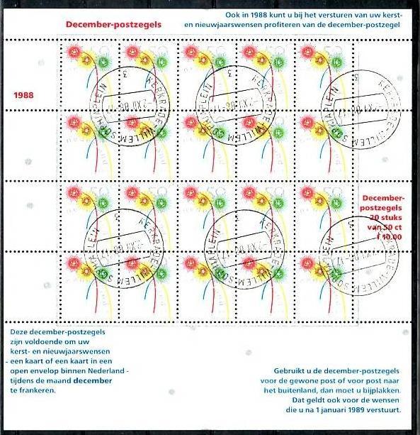 Nederlande Block  1356  o  (m9512 ) siehe scan