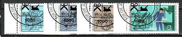 Berlin Nr.  754-7   o   (u 4286  ) siehe scan