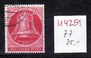 Berlin Nr.  77  o   (u 4251  ) siehe scan
