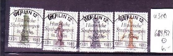 Berlin Nr.  589-2 o  (u3181  ) siehe scan