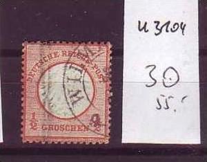 D-Reich Nr. 3  o  ( u3104   ) siehe scan