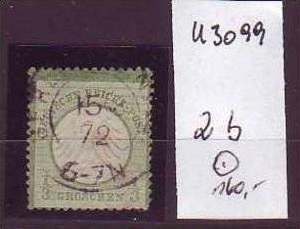 D-Reich Nr. 2 b  o  ( u3099   ) siehe scan