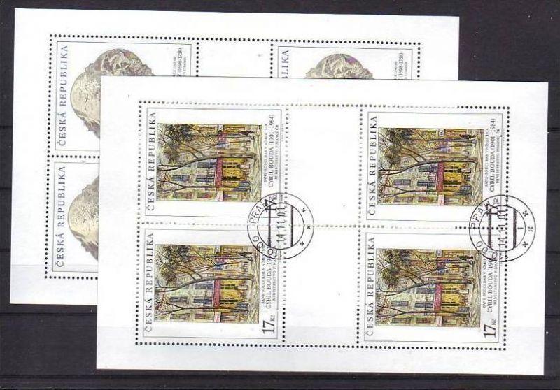 Ceska Republika Block-308-10  o-Ersttag /220,-Kc Postpreis (oo241 )