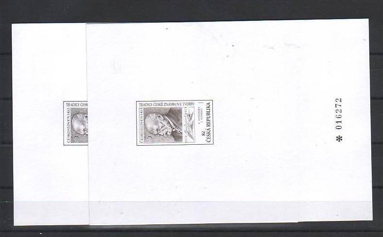 Ceska Republika - Sonderdruck PT013 -a+b    ( m9282  ) siehe Bild