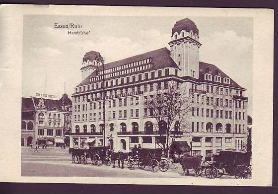 handelshof karte Alte Karte Essen Handelshof ca.1916 (da1397) Nr. 112217785  handelshof karte