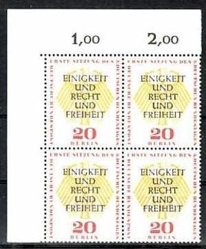 Berlin Nr. 4x175  ** ( b8657 ) siehe scan