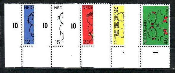 Nederlande 928-32 **  (b7657  ) siehe scan