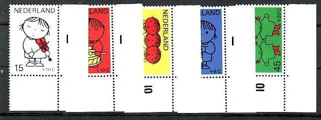 Nederlande 928-32 **  (b7661  ) siehe scan