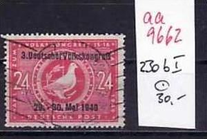 sowjet Zone Nr.230-b I    o   ( aa9662 ) siehe scan