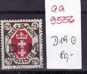 Danzig Nr. D 19  ( aa9556 ) siehe scan