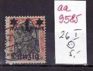 Danzig Nr.26 I   o ( aa9585 ) siehe scan