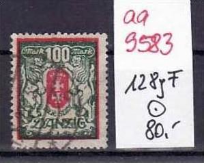 Danzig Nr.128 yF   o ( aa9583 ) siehe scan