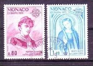 Cept-- Monaco 1167-8  o (aa9042  ) siehe scan