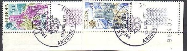 Cept-- Andorra 282-3   o (aa9023  ) siehe scan