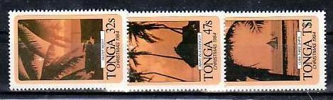 Weihnachten- Tonga 902-4    **  (aa8820 ) siehe scan