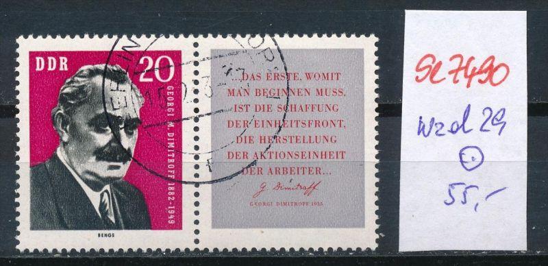 DDR   Nr. wzd  29  o   (se7490 ) siehe Bild