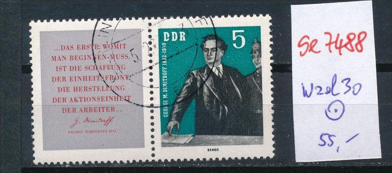 DDR   Nr. wzd  30  o   (se7488 ) siehe Bild