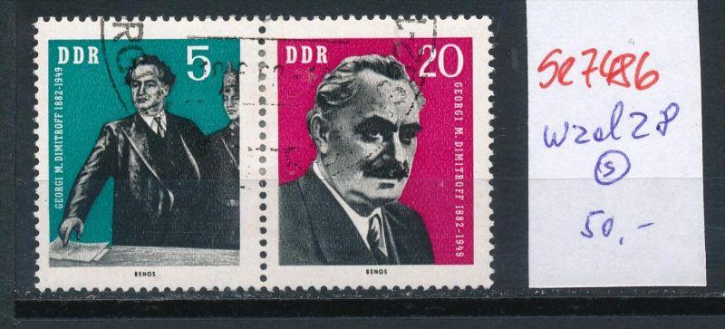 DDR   Nr. wzd  28 o   (se7486 ) siehe Bild