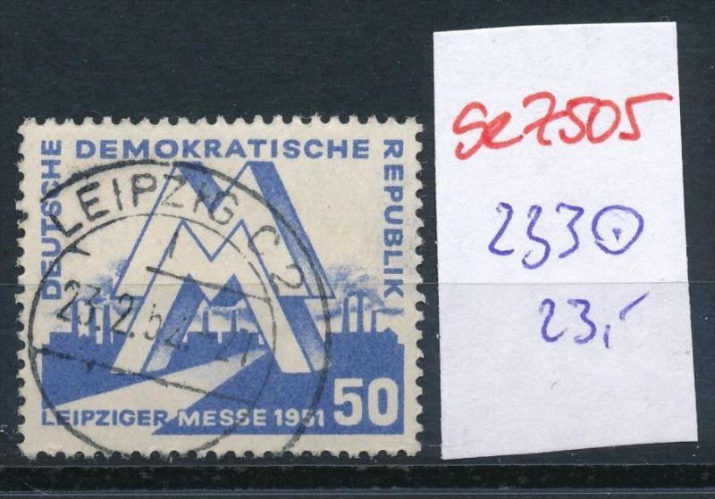DDR   Nr. 233   o   (se7505 ) siehe Bild