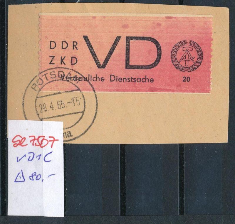 DDR   VD 1 C   o   (se7507 ) siehe Bild