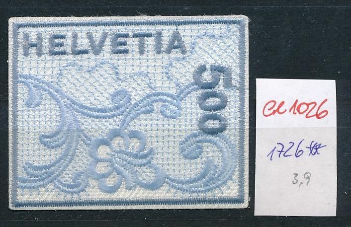 Schweiz Nr. 1726 Stickerei    **  (ee1026  ) siehe Bild